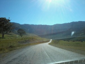 The road to Hogsback, Eastern Cape, South Africa